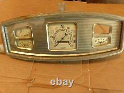 1930's Dodge instrument gauge cluster dash 1933 1934 vintage 1935 parts truck