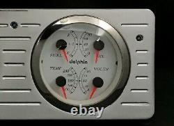 1940 1941 1942 1943 1944 1945 1946 1947 Ford Truck Dash Gauge Gps Cluster White