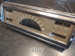 1940 1946 Chevy GMC Truck Instrument Cluster Dash Speedometer Gauges