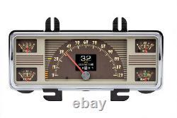 1940-47 Ford Truck Pickup Dakota Digital RTX Retrotech LED Dash Custom Gauge Kit