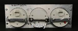 1941 1942 1943 1944 1945 1946 Chevy Truck 3 Gauge Gps Dash Panel Cluster Black