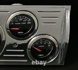 1941 1942 1943 1944 1945 1946 Chevy Truck 5 Gauge GPS Dash Cluster Black