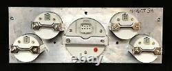 1941 1942 1943 1944 1945 1946 Chevy Truck 5 Gauge GPS Dash Cluster White