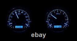 1947-53 Chevy GMC Truck Carbon fiber & Blue Dakota Digital VHX Analog Gauge Kit