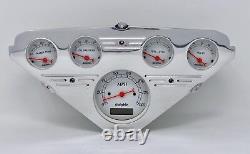 1955 1956 1957 1958 1959 Chevy Truck 5 Gauge Dash Cluster White