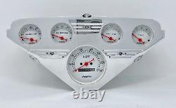 1955 1956 1957 1958 1959 Chevy Truck Gauge Dash Cluster Street Rod White