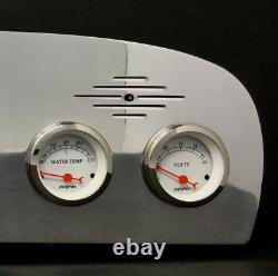 1961 1962 1963 1964 1965 1966 Ford Truck 6 Gauge Dash Cluster Metric White