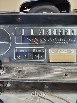 1964 1965 1966 Chevy Gmc Truck Tach Dash Cluster