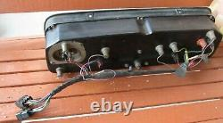 1964 -1966 Chevrolet C10 K10 Truck Dash Gauge Cluster Assembly with harness GM