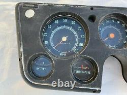 1967-1972 Chevrolet GMC Pickup Truck Gauge Tach Dash Cluster Tachometer