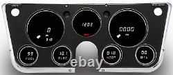 1967-1972 Chevy Truck Digital Dash Panel Gauge Cluster WHITE LEDs Made In The US