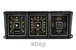1973 1979 Ford truck dash Gauge cluster Dakota Digital RTX Retro gauges Iphone