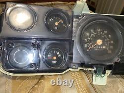 1973-1980 Square Body Gauge Cluster Pickup Truck Instrument Dash Panel Volts Oil