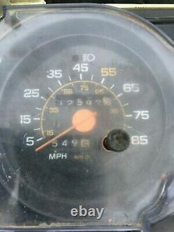 1973 1987 Chevy GM GMC SWB Silverado Truck Gauge Cluster TRIP Odometer! NICE