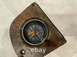 1975-1980 Dodge Truck Clock Woodgrain Overlay Dash Bezel Instrument Cluster