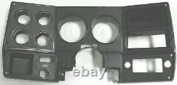 1978-80 Chevrolet Truck C10 K10 K5 Gauge Cluster NON AC Black Dash Bezel