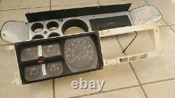 1979 Ramcharger SPEEDOMETER CLUSTER Bezel GUAGE INSTRUMENT ODOMETER 6500 miles