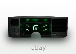 1988-1991 Chevy Truck Dash Panel Cluster Gauges Green LEDs
