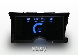 1992-1994 Chevy Truck Digital Dash Panel Cluster Gauges Blue LEDs