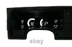 1995-1999 Chevy Truck Digital Dash Panel Cluster Gauges BLUE LEDs