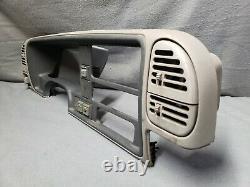 1995-up Silverado Sierra GRAY 4x4 Dash Bezel with Vents Headlight 4x4 Switches