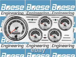 48 49 50 Ford Truck Billet Aluminum Gauge Panel Dash Insert Instrument Cluster