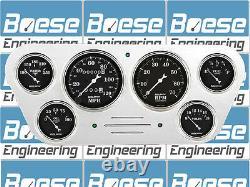 53 54 55 Ford Truck Billet Aluminum Gauge Panel Dash Insert Instrument Cluster