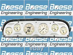 57 58 59 60 Ford Truck Billet Aluminum Dash Panel Instrument Cluster Gauges