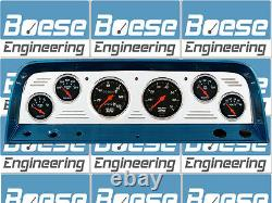 64 65 66 Chevy Truck Billet Aluminum Gauge Panel Dash Insert Instrument Cluster