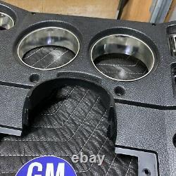 73-80 Chevy GMC Truck BLACK A/C DASH GAUGE BEZEL C10 K5 K10 Blazer Suburban C/K