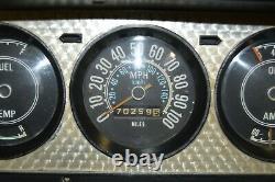 73-85 AMC Jeep Wagoneer Honcho J-Truck SJ Instrument Speedometer Gauge Cluster