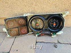 73-87 Chevy/GMC Truck Suburban Blazer Jimmy Gauge Cluster OEM