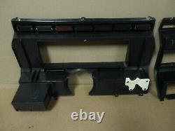 80-86 XL Ford Truck Bronco Woodgrain Dash Gauge Cluster Trim Bezel Cover