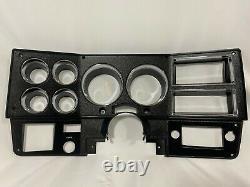 81-83 New Chevy GMC suburban blazer jimmy pickup truck dash cluster bezel BLACK