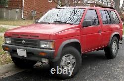 86-89 D21 Rare Nissan Hardbody truck Pathfinder SE dash gauge instrument cluster