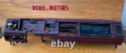 88-94 Chevy GMC Trucks DASHBOARD DASH CORE FRAME MOUNT with Defect Maroon RED