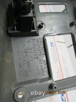 88-94 Chevy Truck Silverado Tahoe Dash Radio Cluster Bezel Trim Dark Grey C3