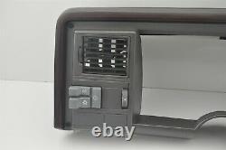 88-94 GMC Suburban Chevy Truck 1500 2500 K C Dash Bezel Vent Switch Panel