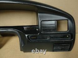 92-96 97 Ford Pickup Truck Bronco OBS Dash Gauge Cluster Trim Bezel Overlay