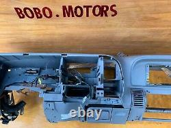 95-99 Chevy GMC Trucks DASHBOARD DASH CORE FRAME MOUNT Gray