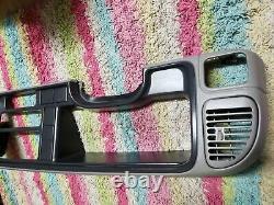 95-99 Chevy Silverado Gmc Speedo Dash Cluster Surround Trim Bezel Gray