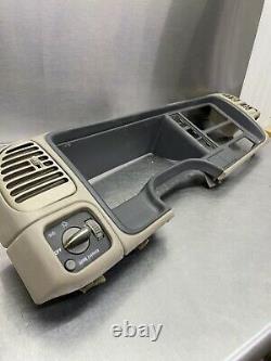 95-99 Chevy Silverado Tahoe Gmc Sierra Yukon Speedo Dash Cluster Trim Bezel