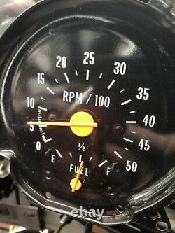 Chevrolet GMC WORKS Dash Gauge Cluster Tachometer Truck Blazer Sierra Silverado