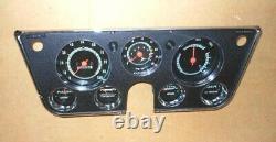 Chevy Gmc Truck Gauge Cluster 67 68 69 70 71 72 Restored 8k Tach Vacuum Dash
