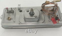 Chevy Truck Dash Gauge Cluster 1941 1946 Instrument Panel Pickup V8 12 Volt