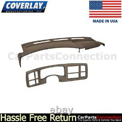 Coverlay DK Brown 18-216C-DBR For Escalade Dash/Instrument Cluster Panel Cover