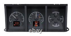 Dakota Digital 1973-79 Ford Pickup Truck Analog Gauge System Black HDX-73F-PU-K