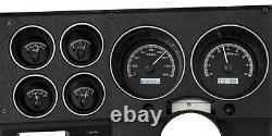 Dakota Digital 1973-87 Chevy GMC Pickup Truck Analog Gauge System VHX-73C-PU-K-W