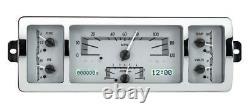 Dakota Digital 40-46 Chevy Pickup Truck Analog Dash Gauge System VHX-40C-PU-S-W