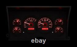 Dakota Digital 88 94 Chevy GMC Pickup Truck Analog Gauge System VHX-88C-PU-C-R